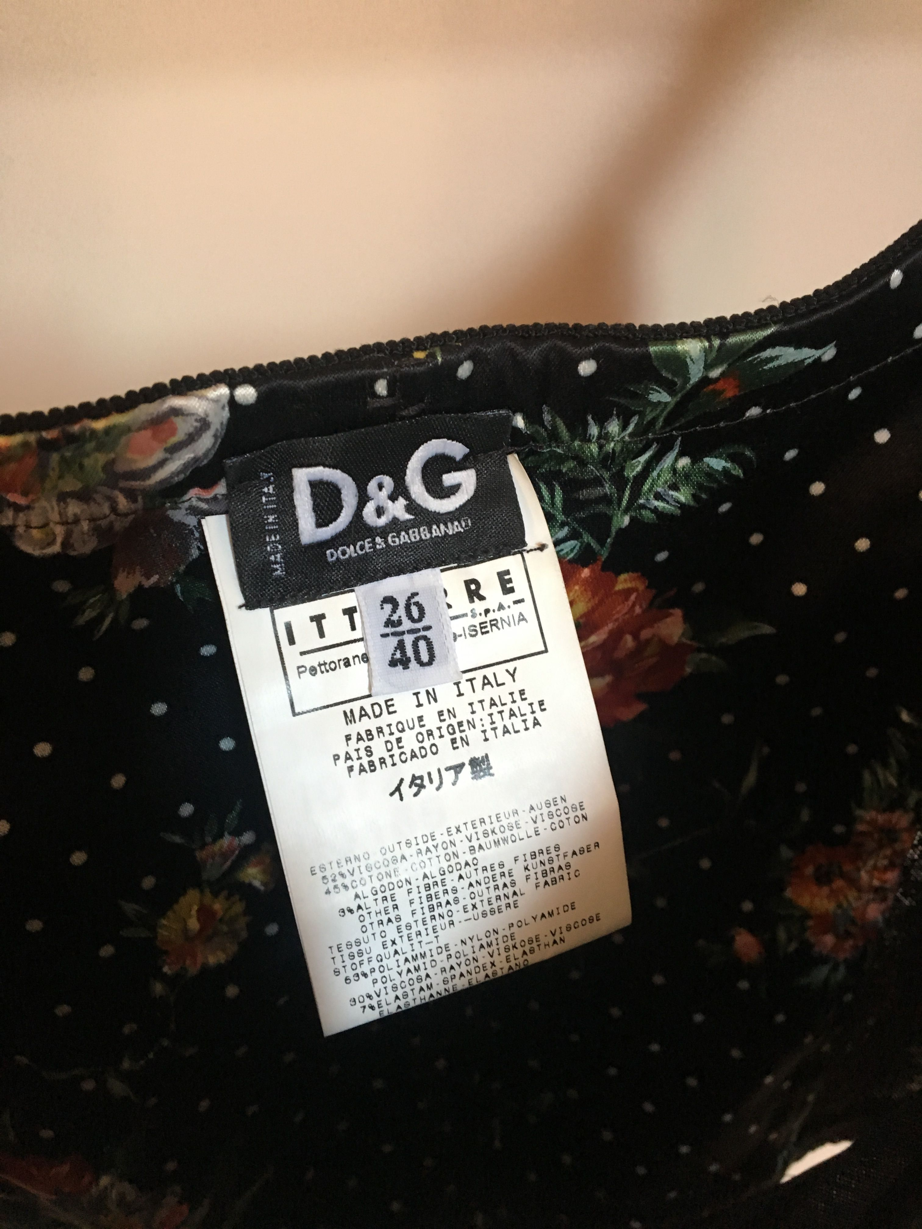Tops - Bustier Dolce and Gabbana