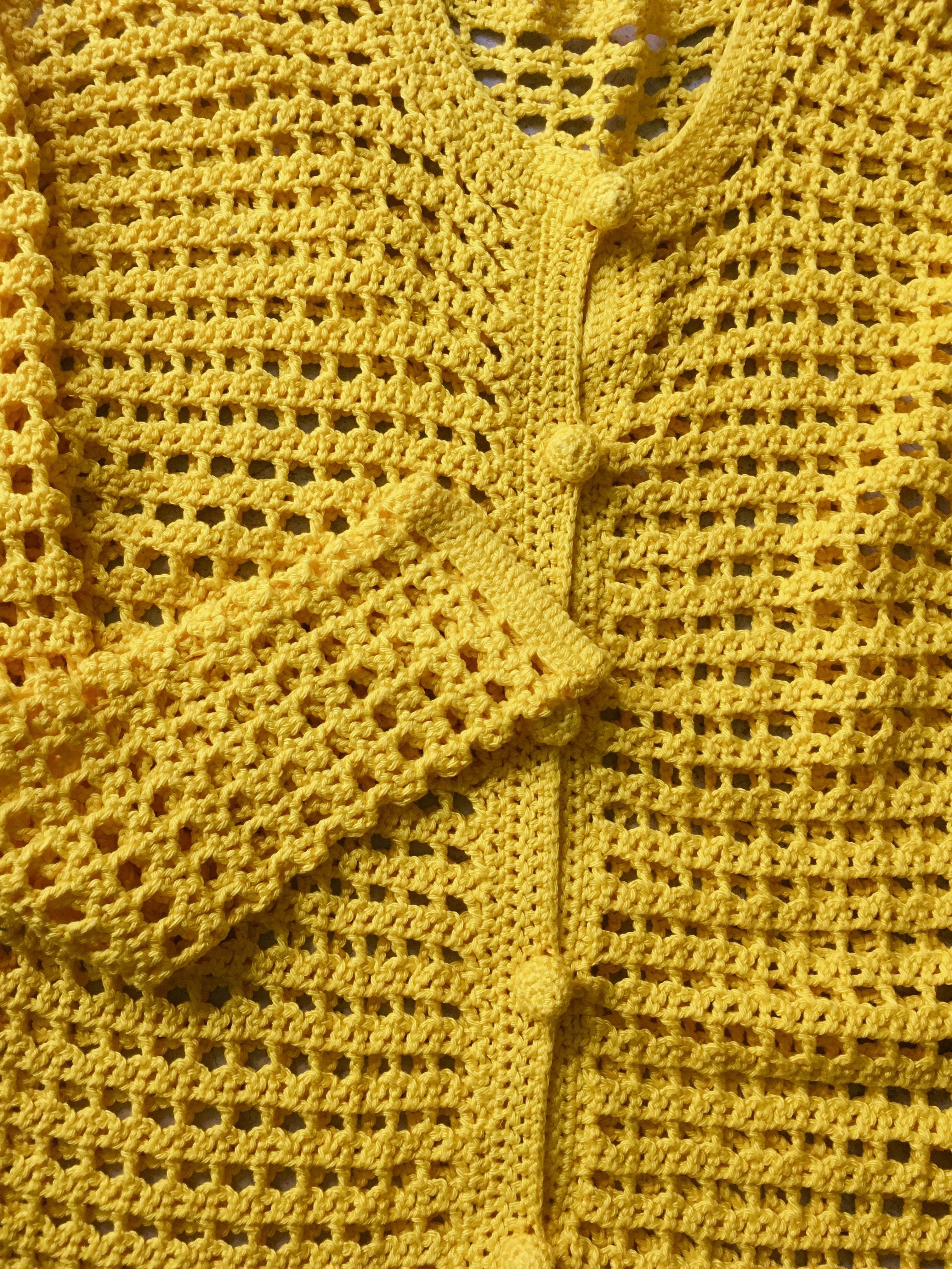 Pulls - Cardigan en crochet