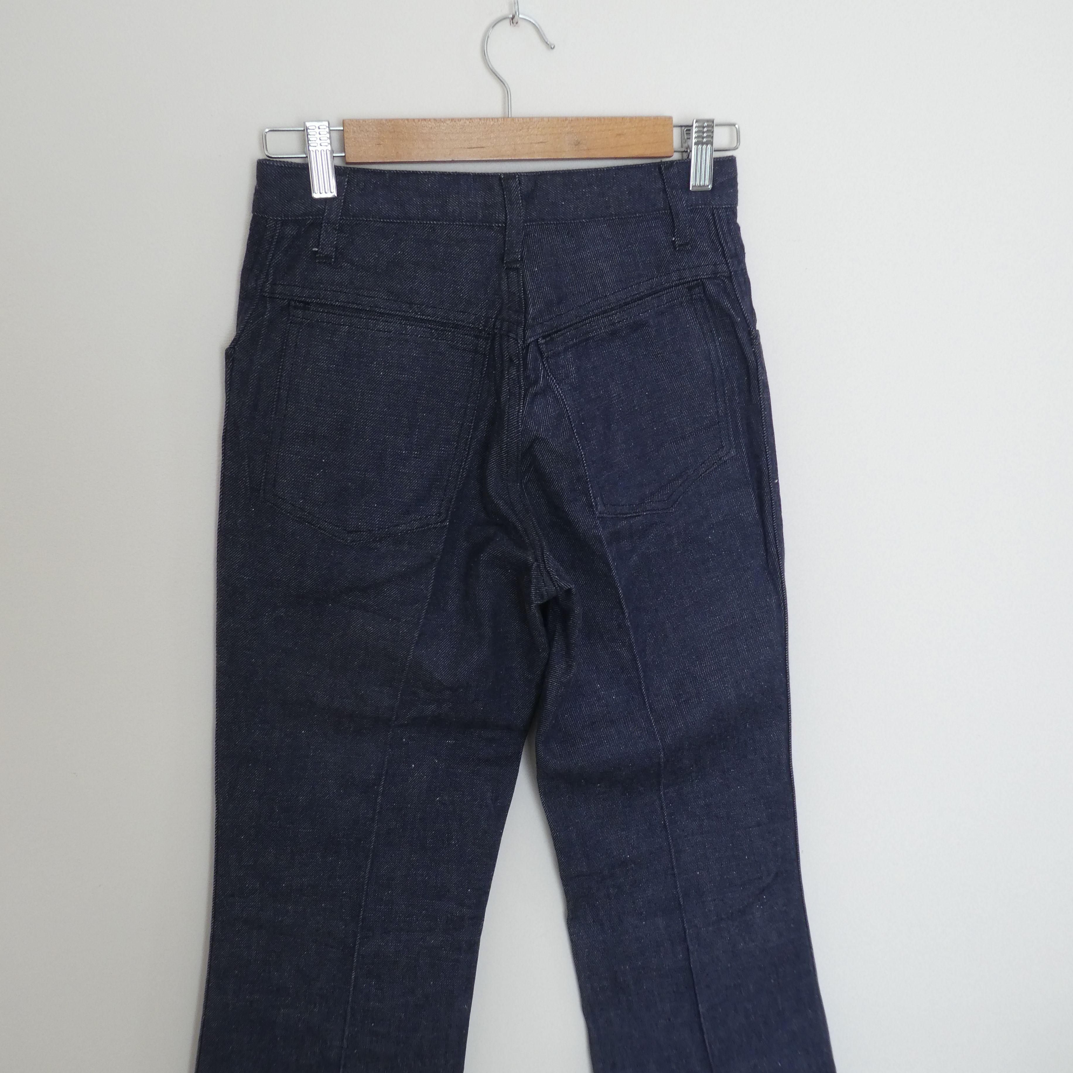 Pantalons - Jean flare bleu foncé