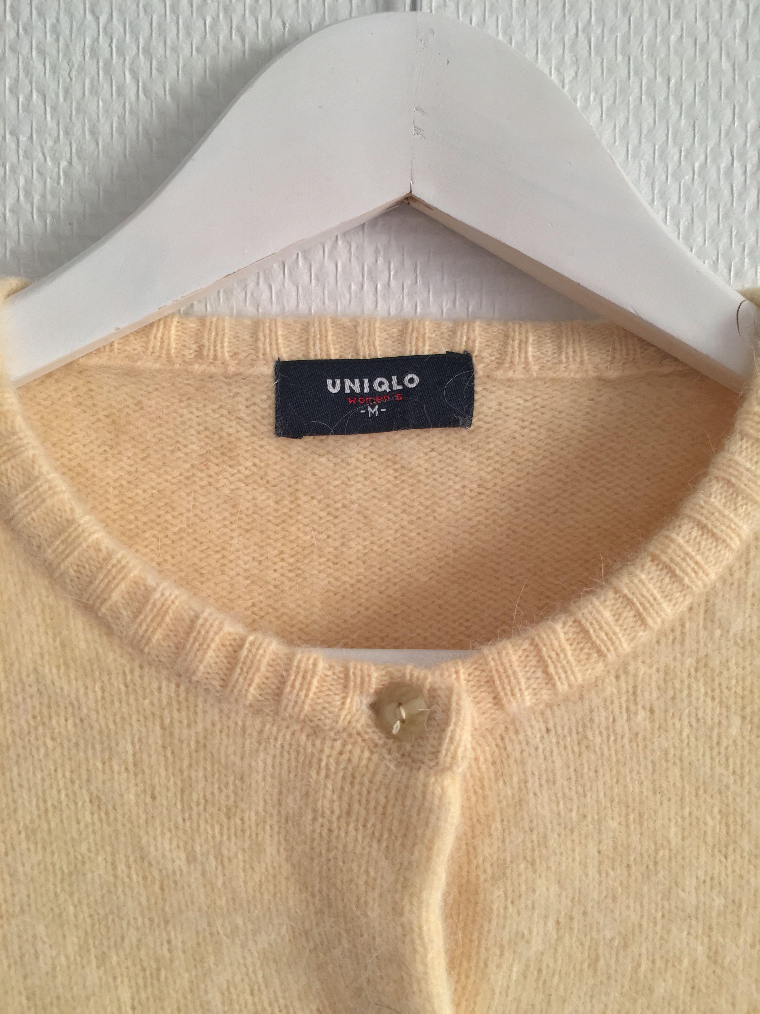 Pulls - Cardigan jaune pastel