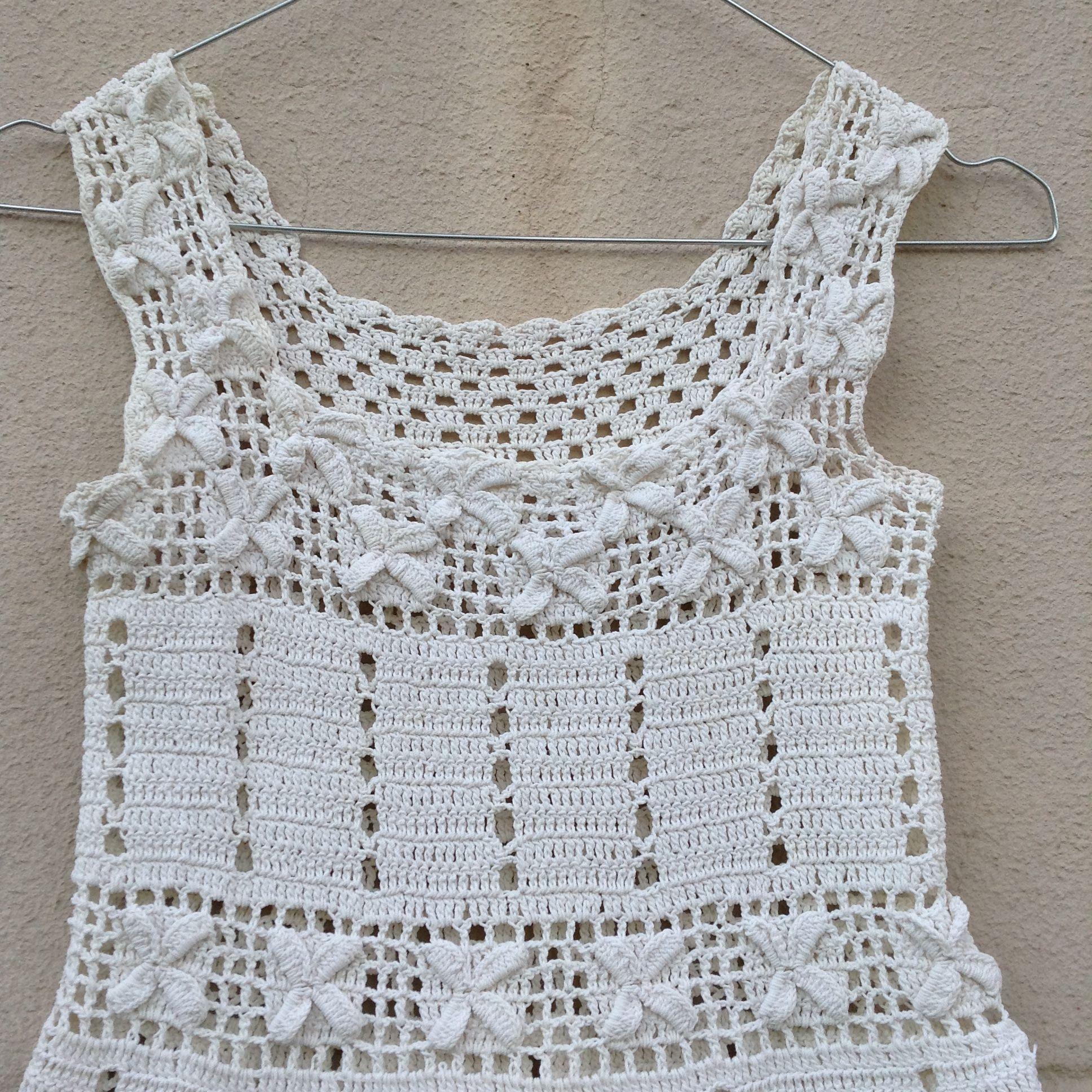 Tops - Tunique en crochet
