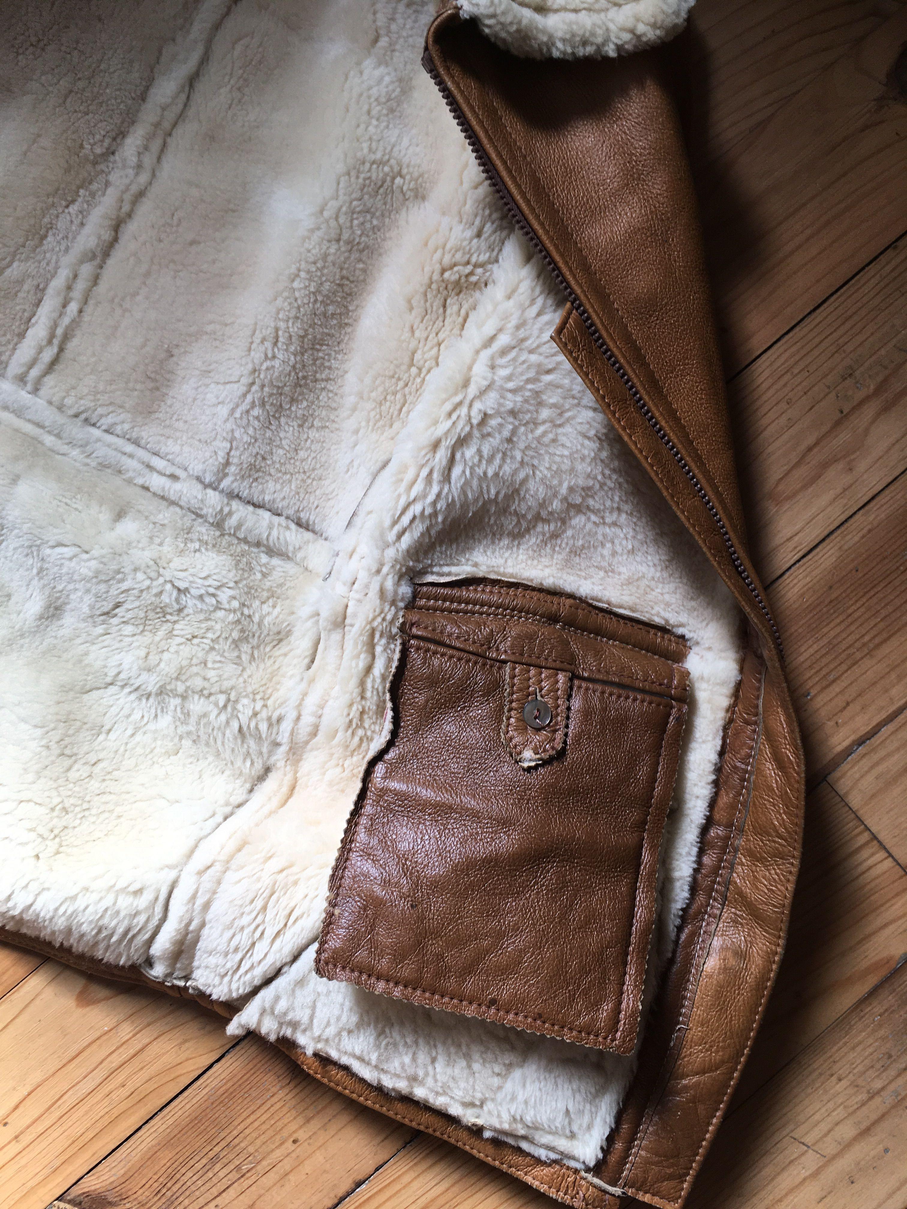 Vestes - Manteau peau lainée
