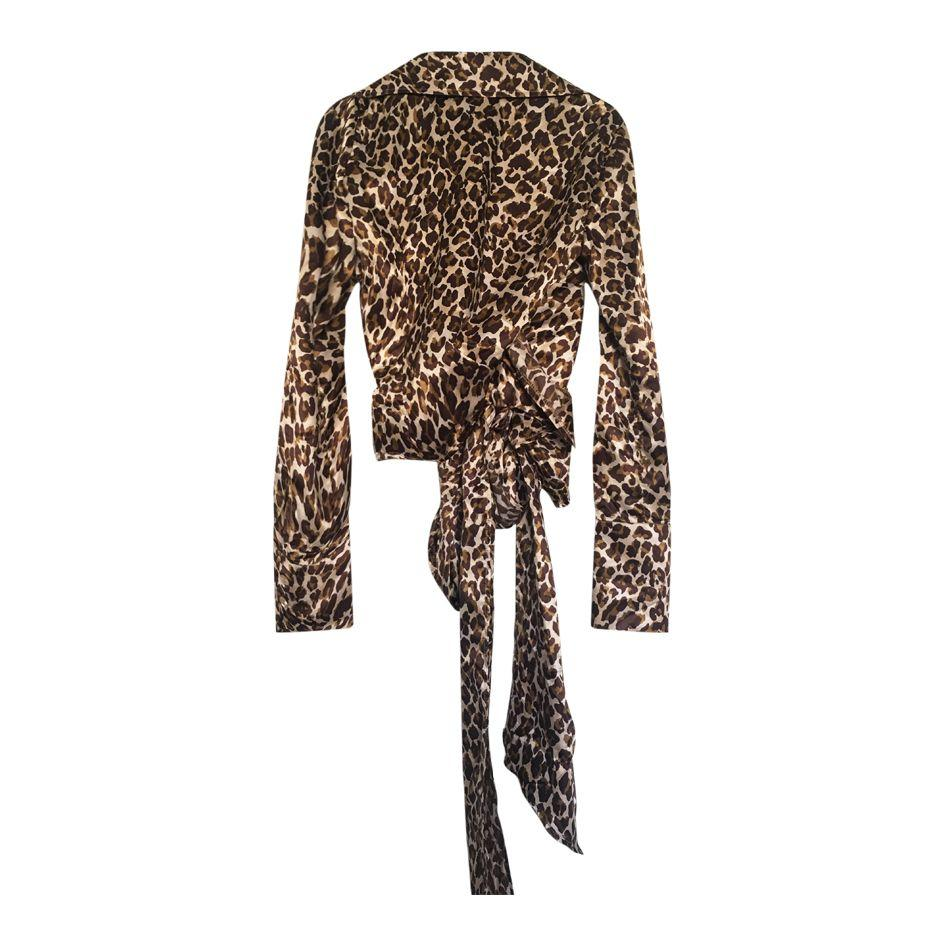 Tops - Blouse léopard