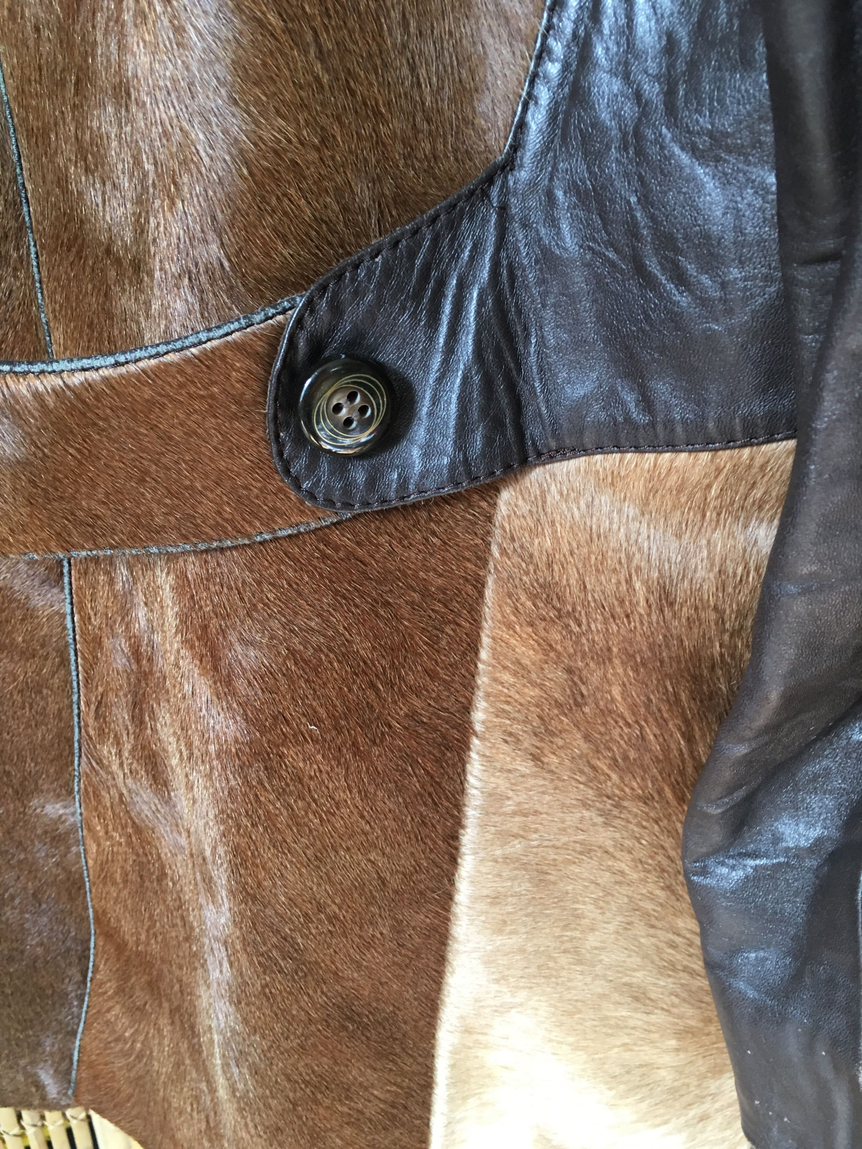 Vestes - Caban en cuir