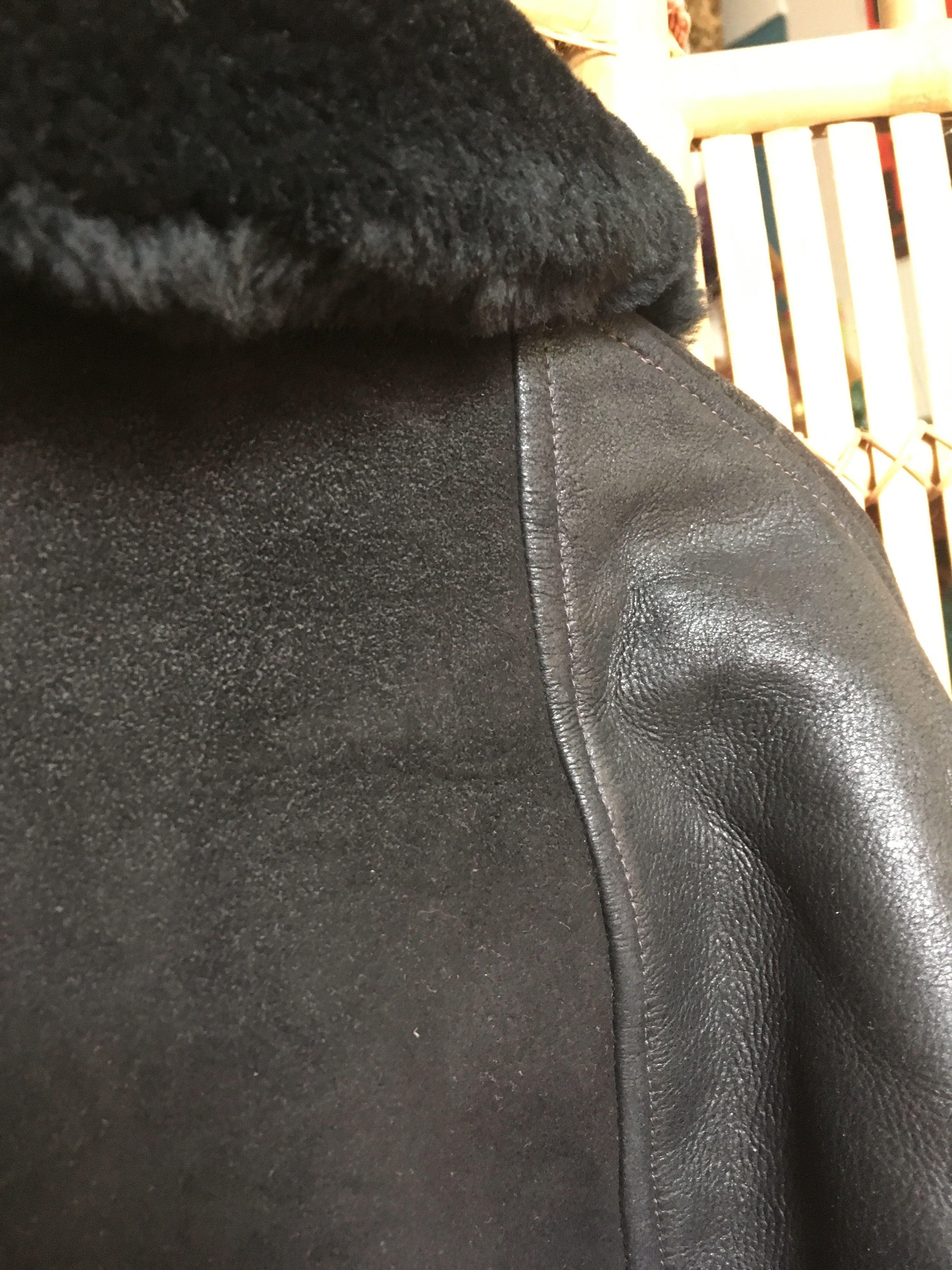 Vestes - Veste en peau lainée