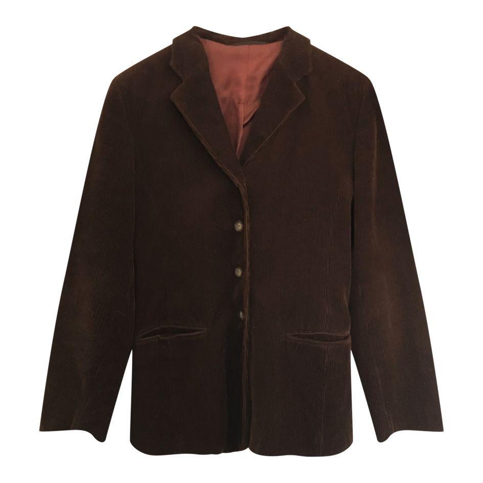 Vestes - Blazer en velours côtelé