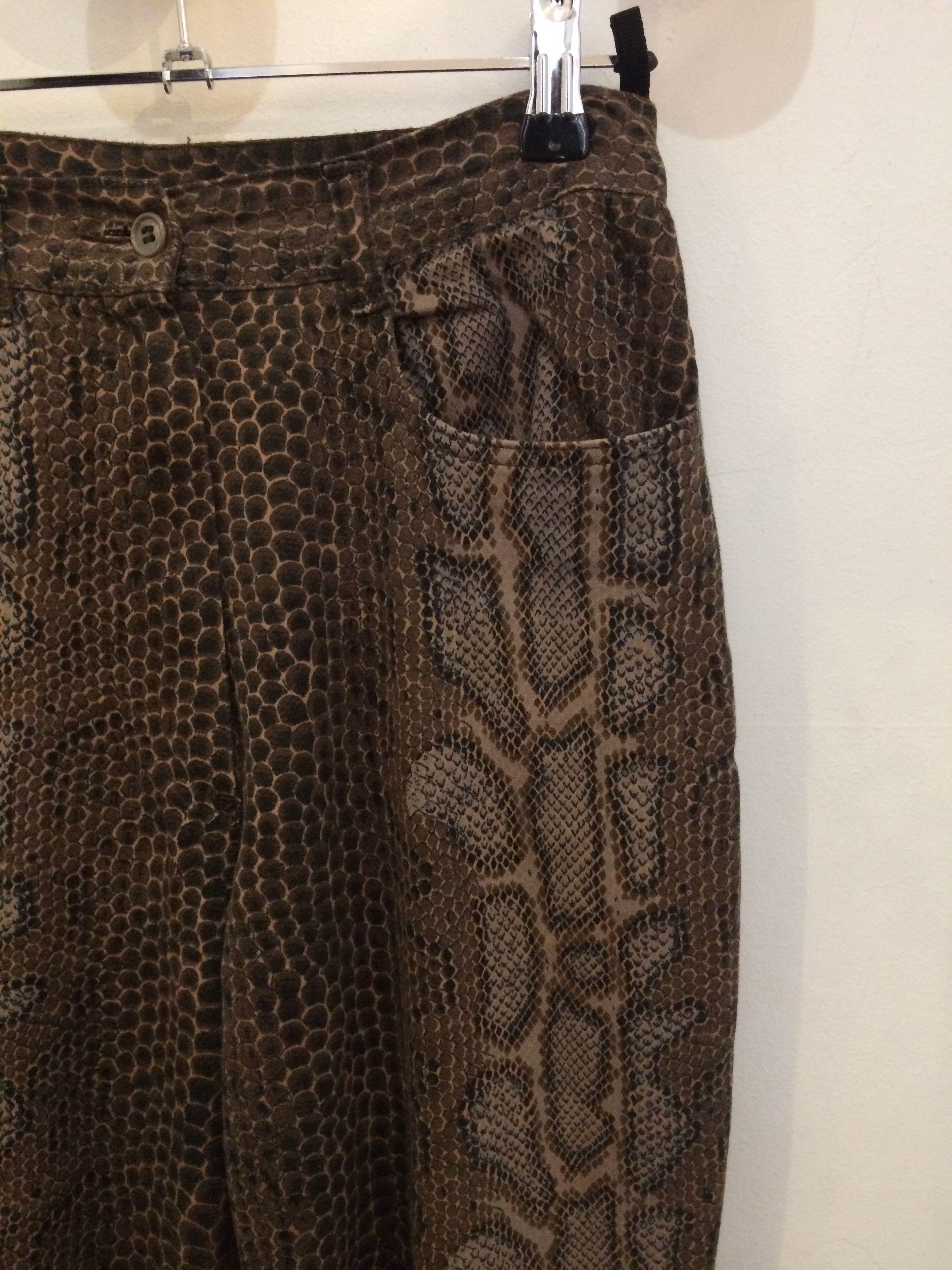 Pantalons - Pantalon serpent