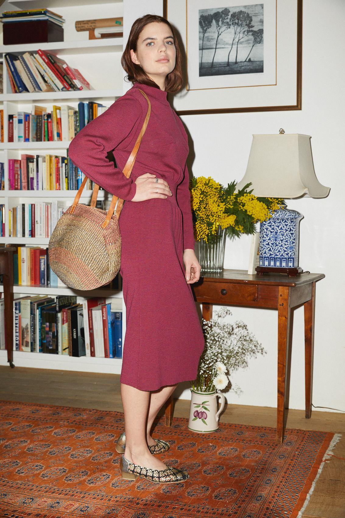 Robes - Robe en maille