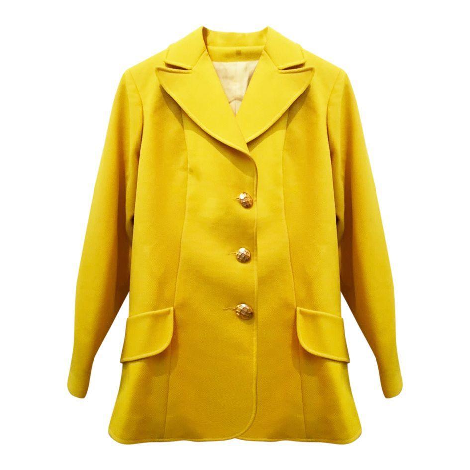 Blazer jaune citron