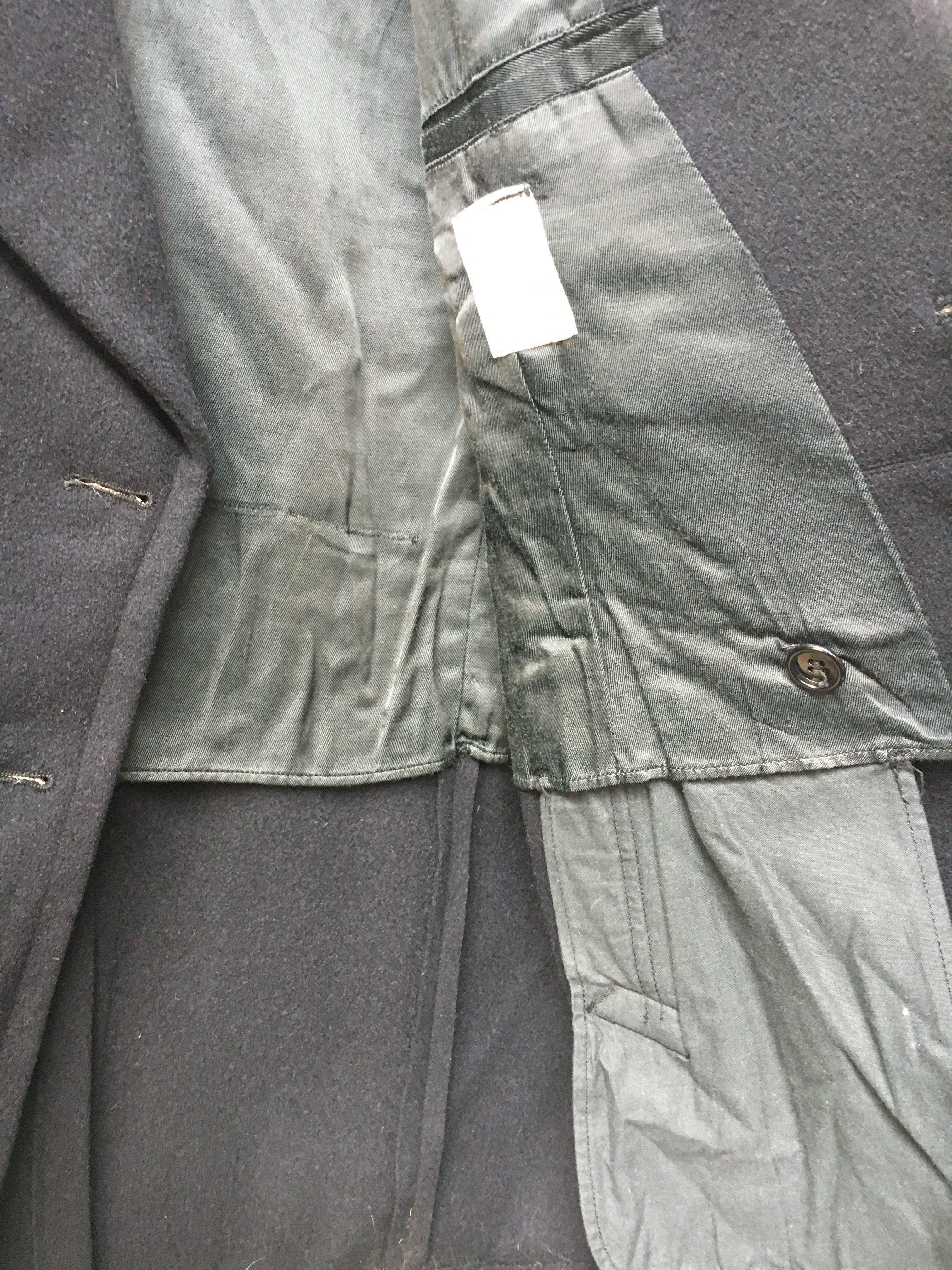 Manteaux - Caban en laine