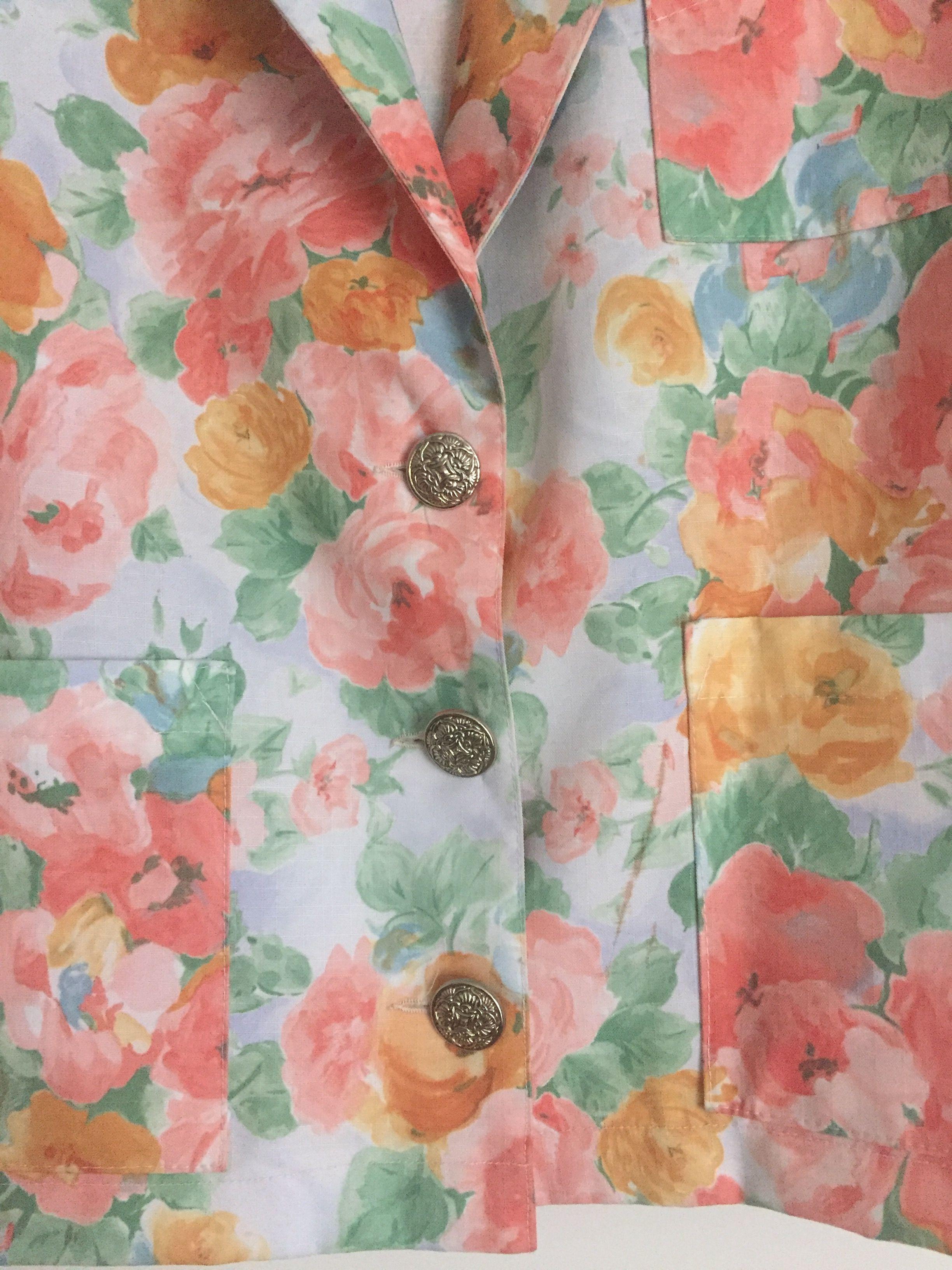 Vestes - Veste à fleurs