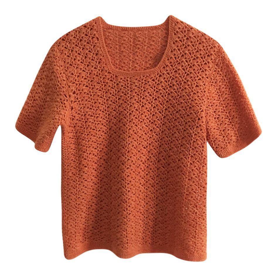 Pulls - Top crochet