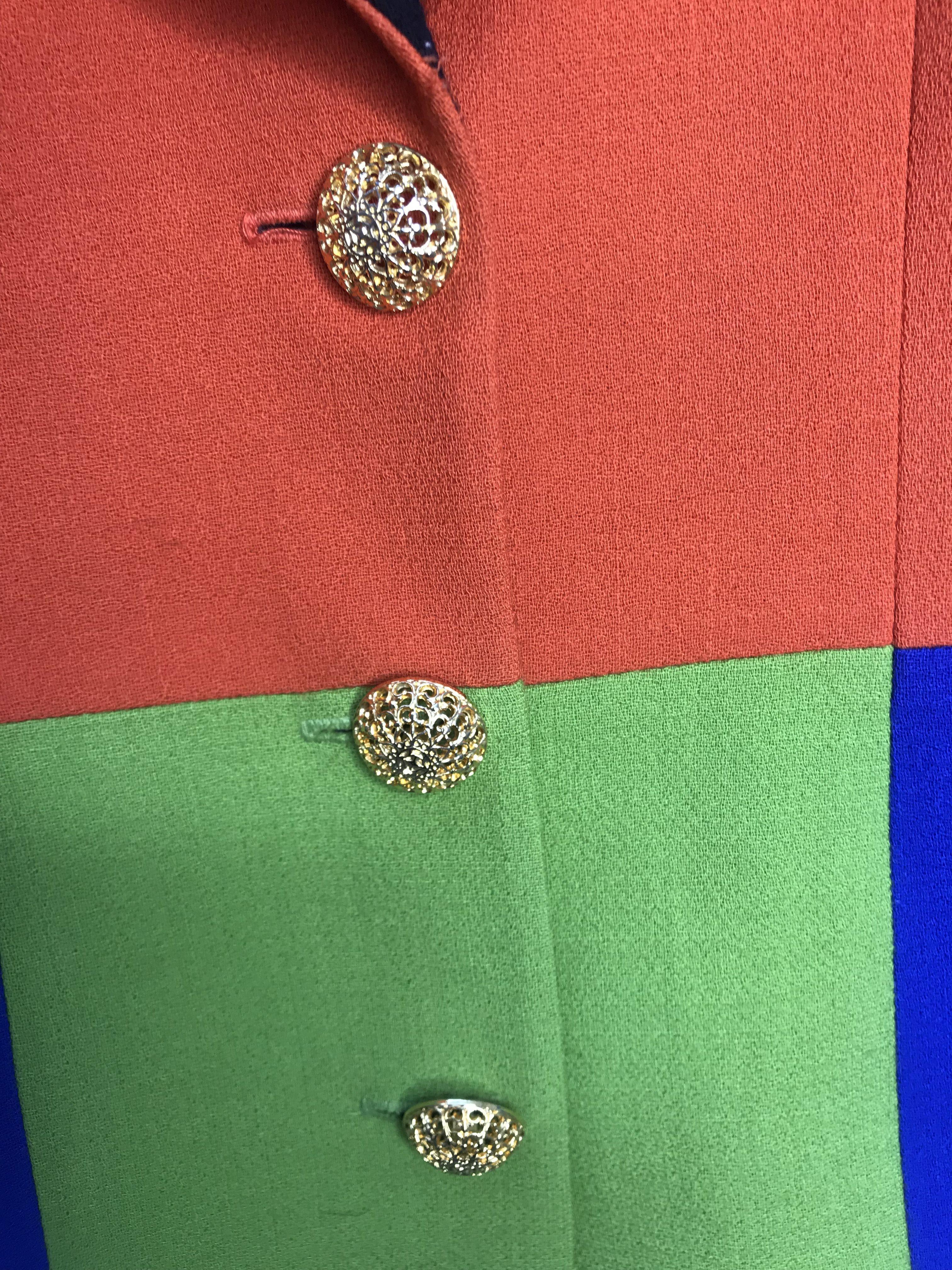 Vestes - Veste multicolore