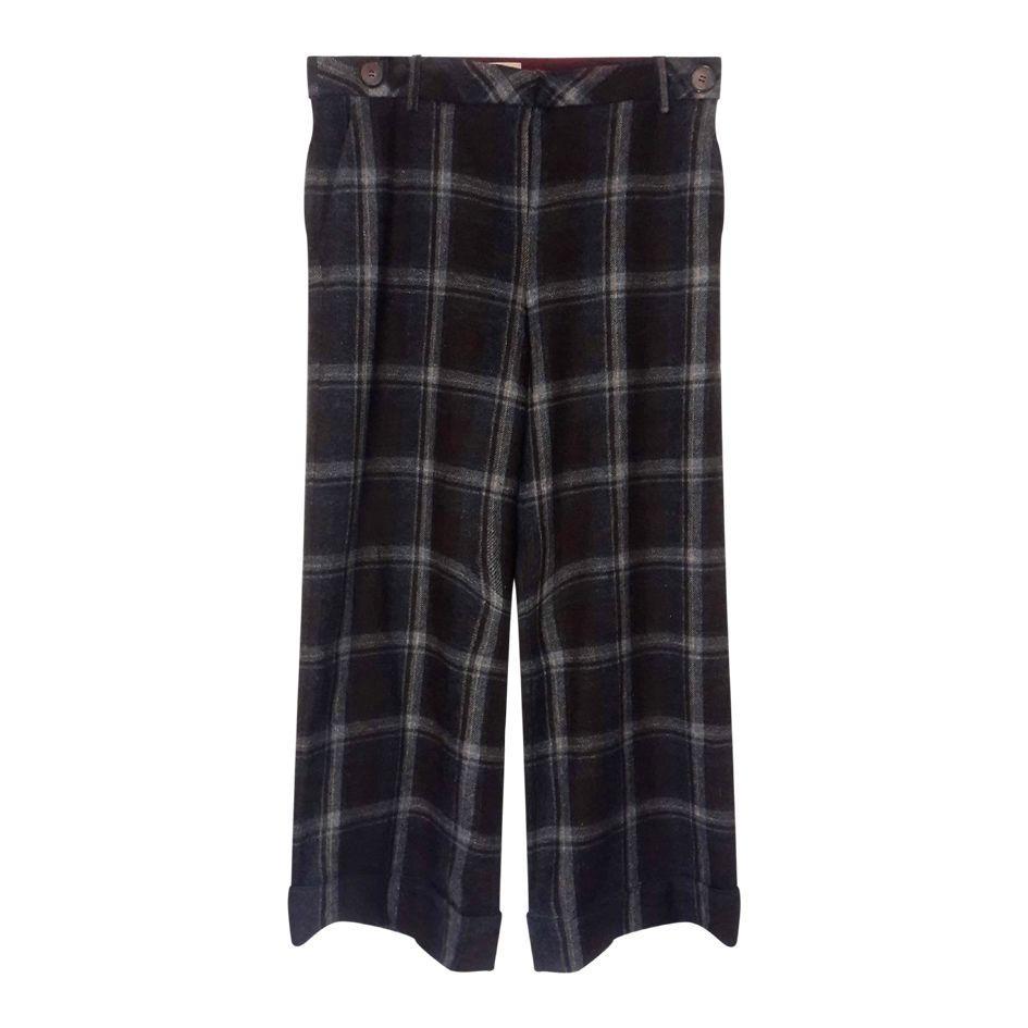 Pantalons - Pantalon flare à carreaux