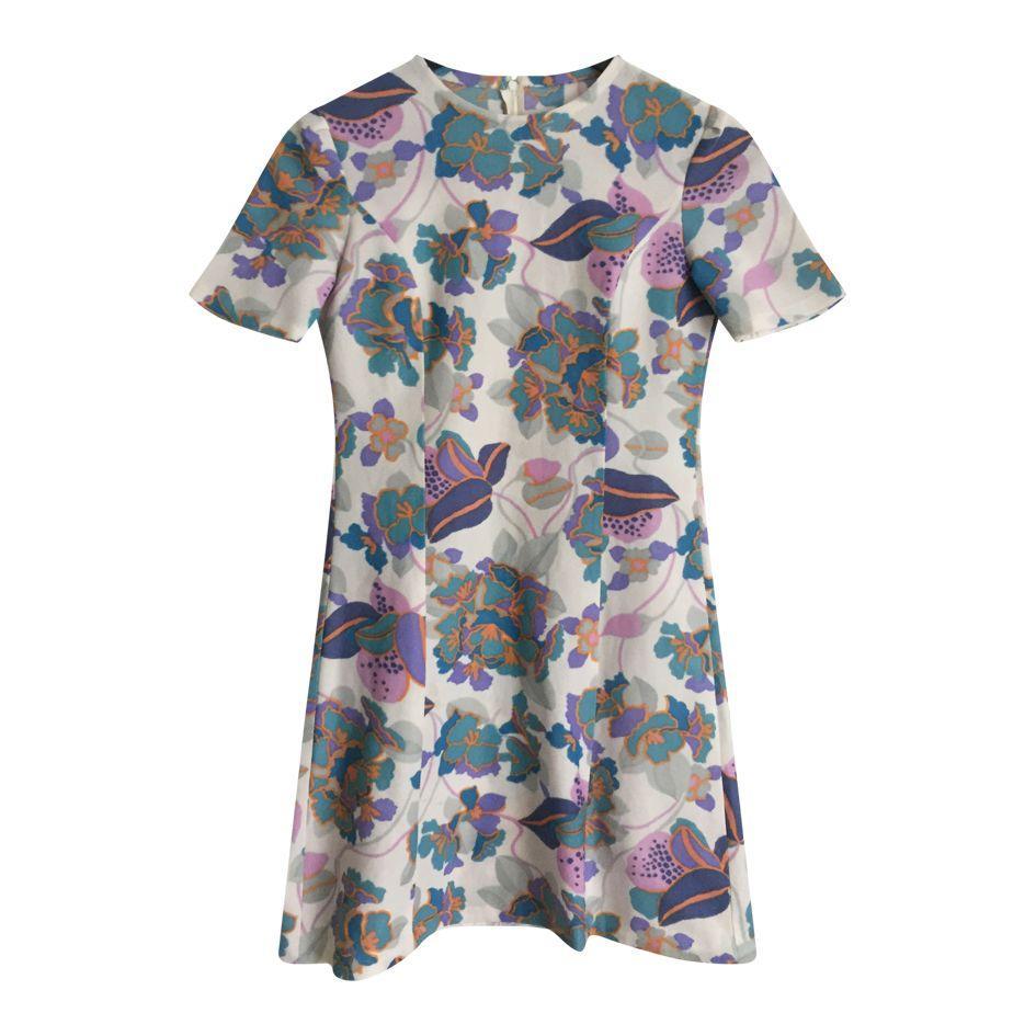 Robes - Robe à fleurs pastel