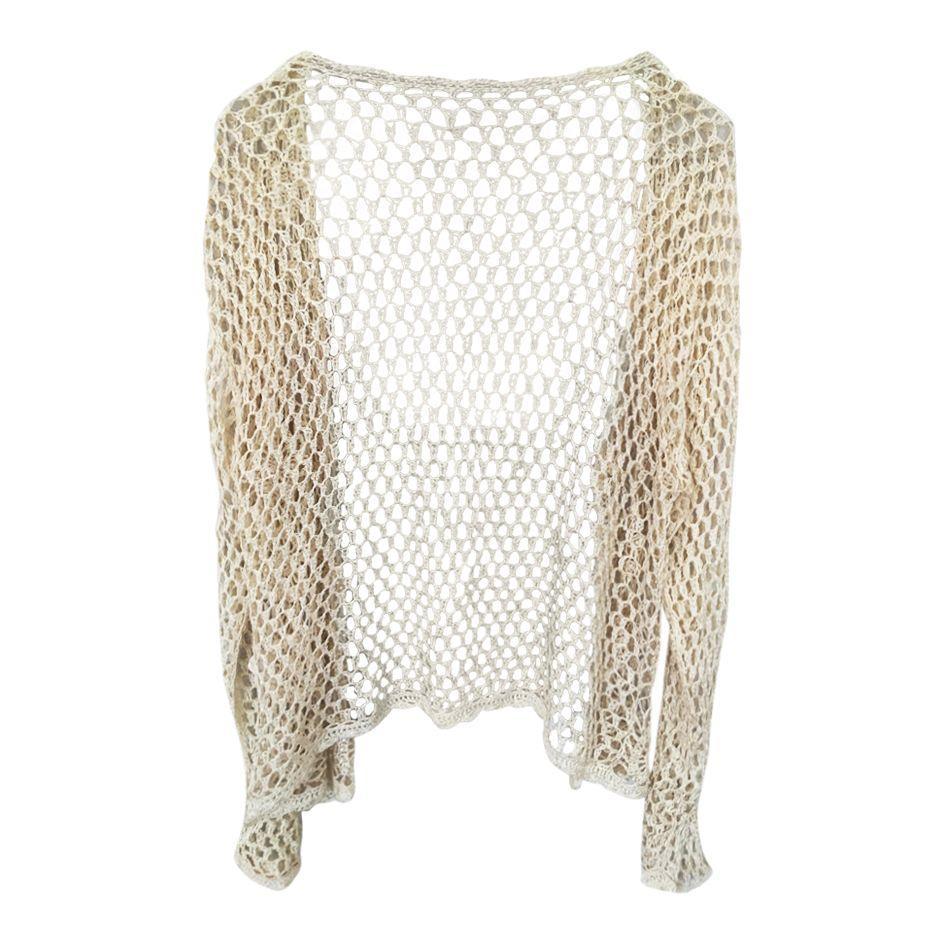 Tops - Cardigan en crochet
