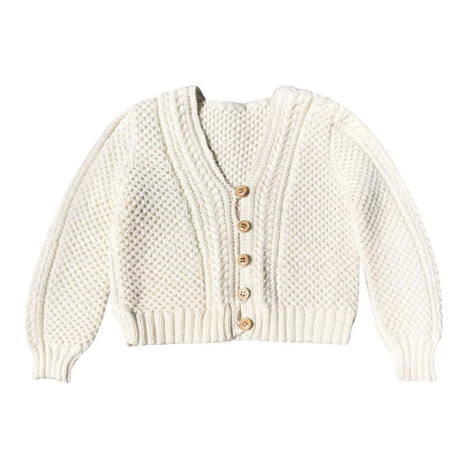Cardigan en laine*