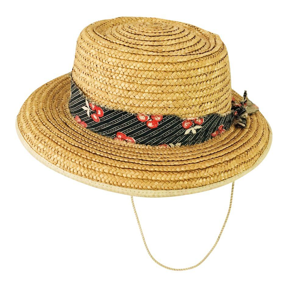 Accessoires - Chapeau de paille