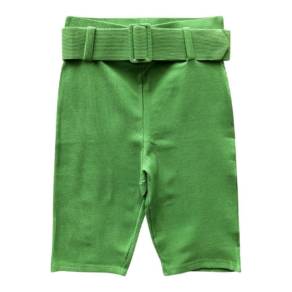 Shorts - Cycliste vert pomme