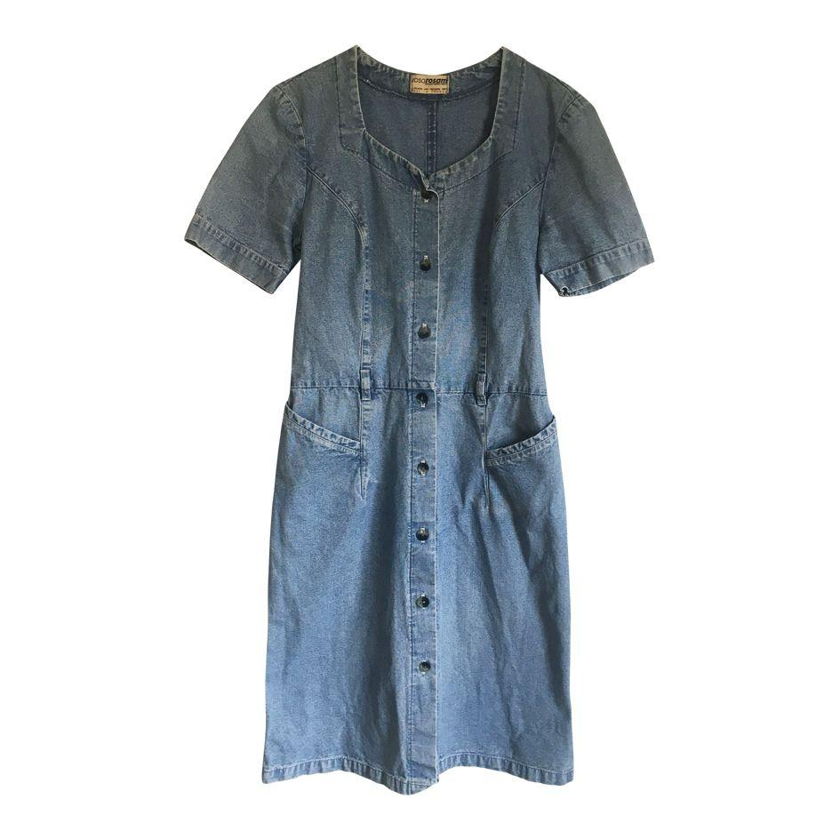Robe en jean