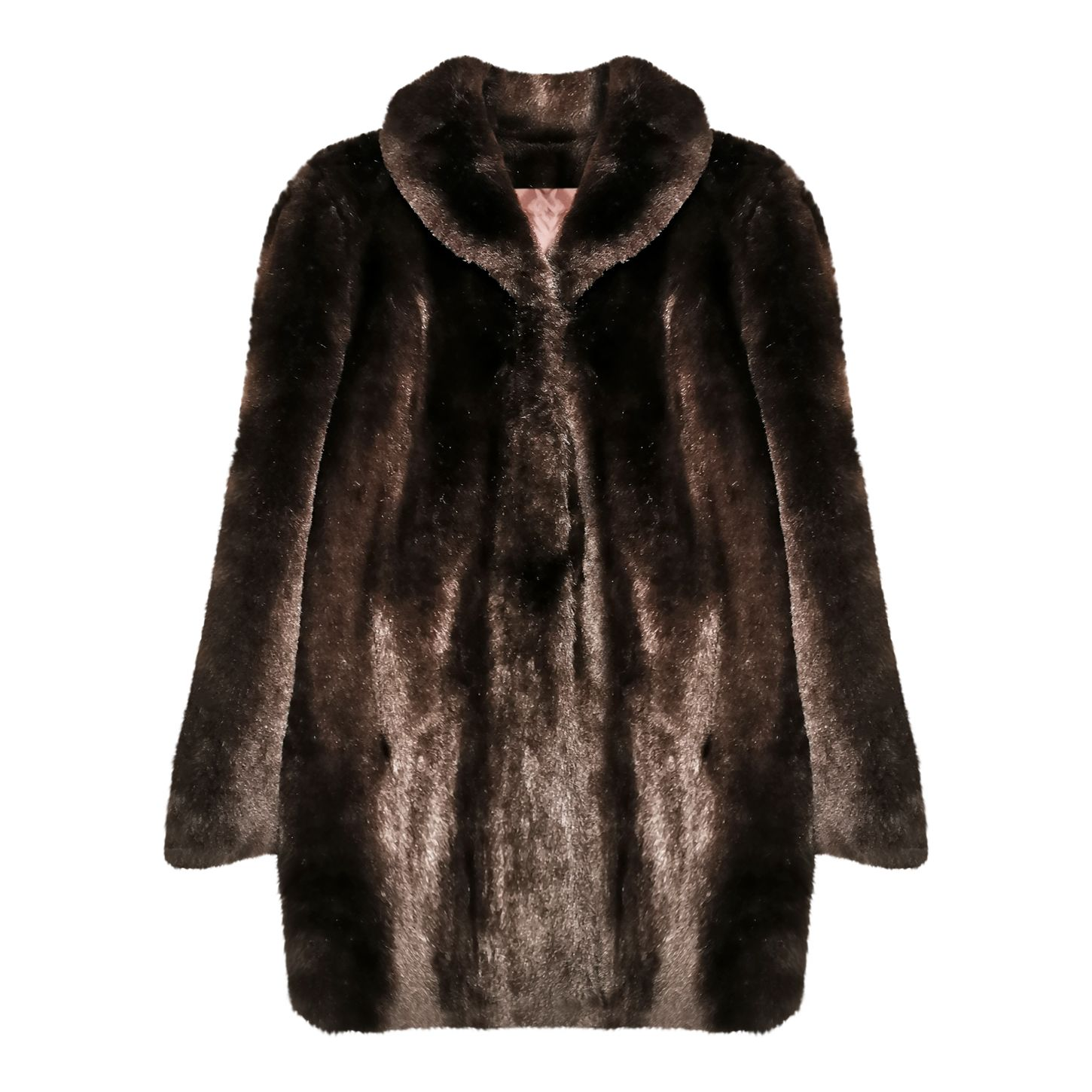 Manteau en fausse fourrure
