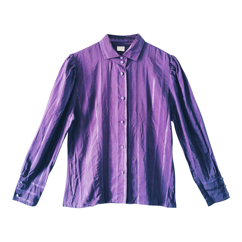 Chemise violette