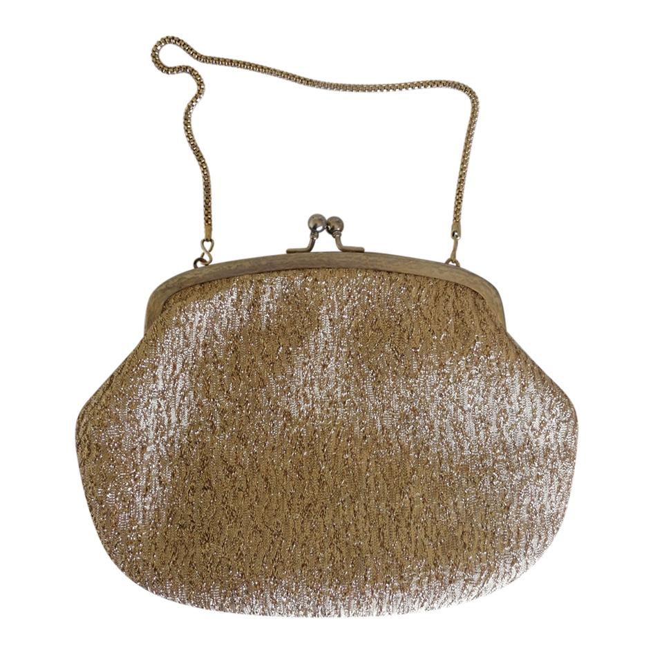 Mini sac en lurex