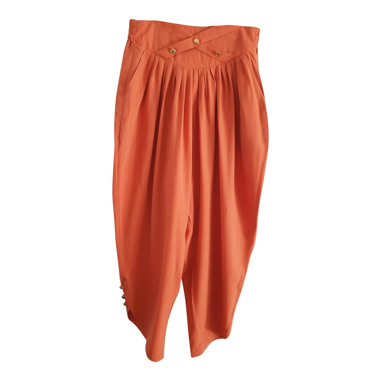 Pantalon taille haute