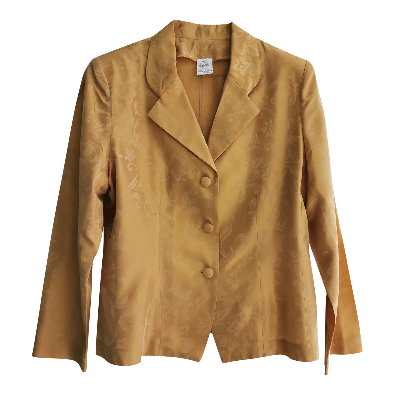 Veste dorée