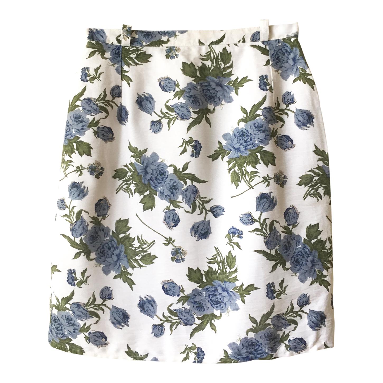 Mini jupe à fleurs