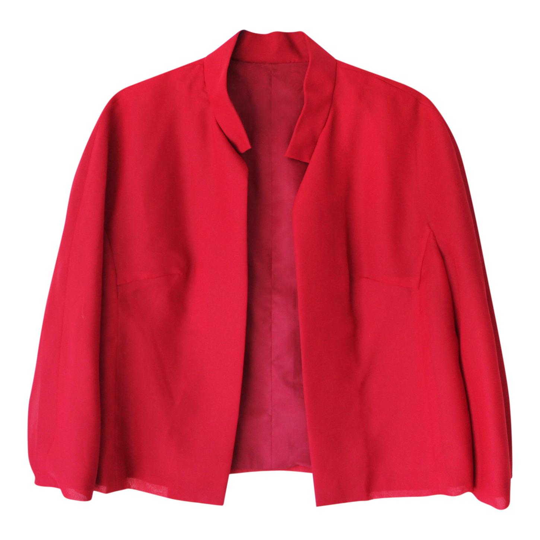 Veste légère rouge