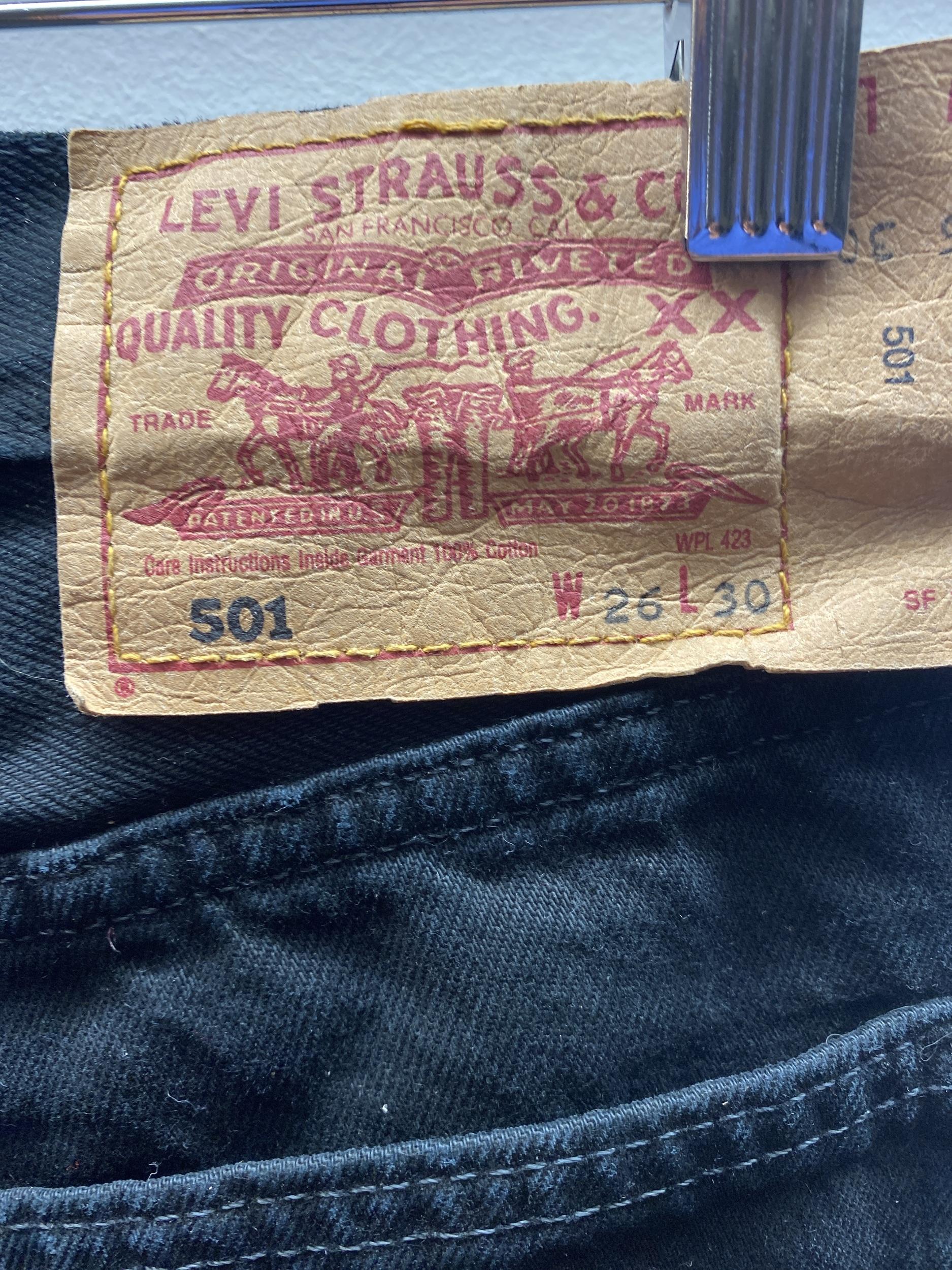 Jean Levi's 501 W26L30