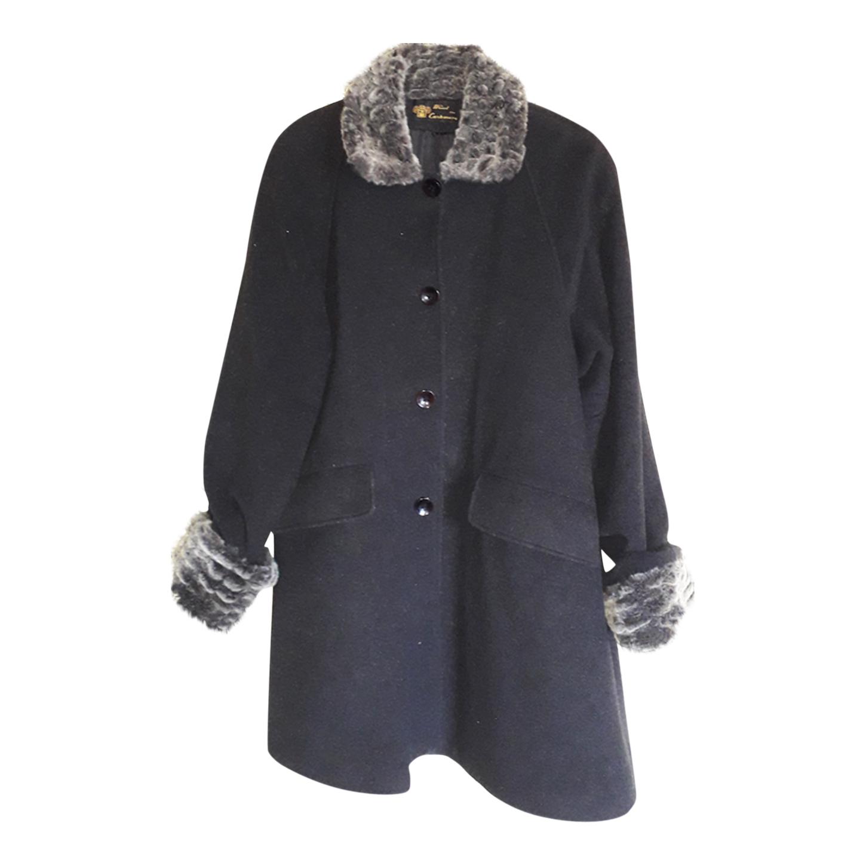 Manteau col fourrure