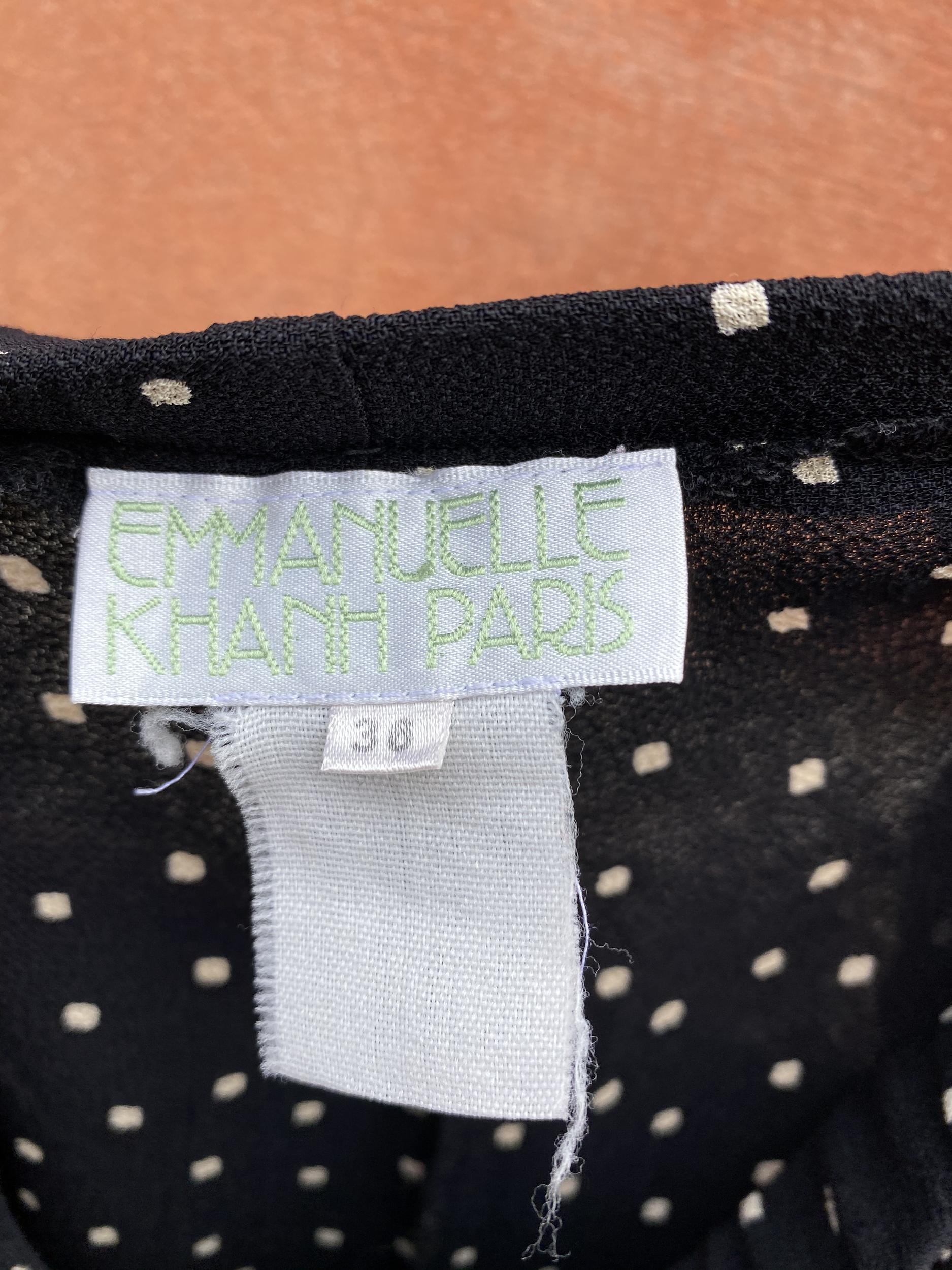 Pantalon Emmanuelle Khanh