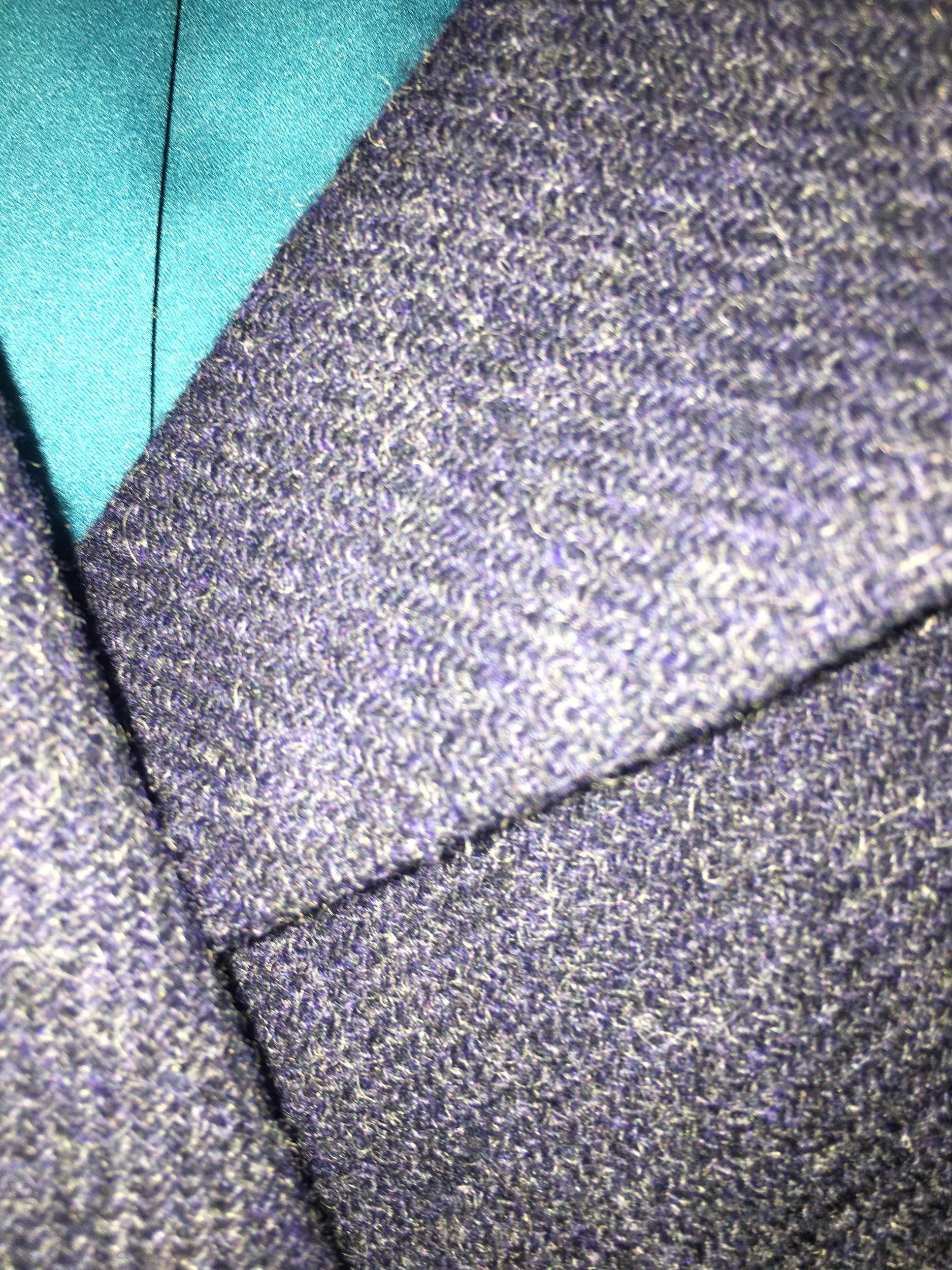 Blazer en laine