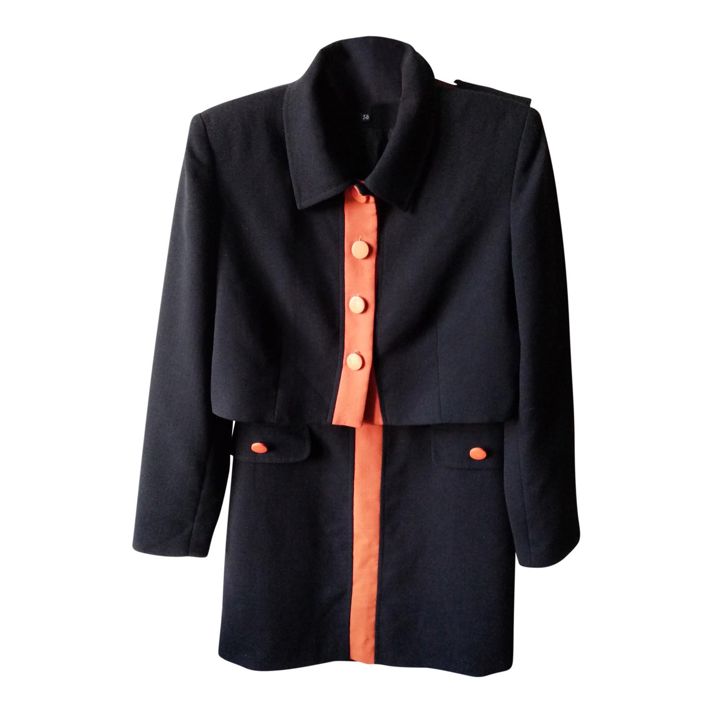 Tailleur robe et veste en laine