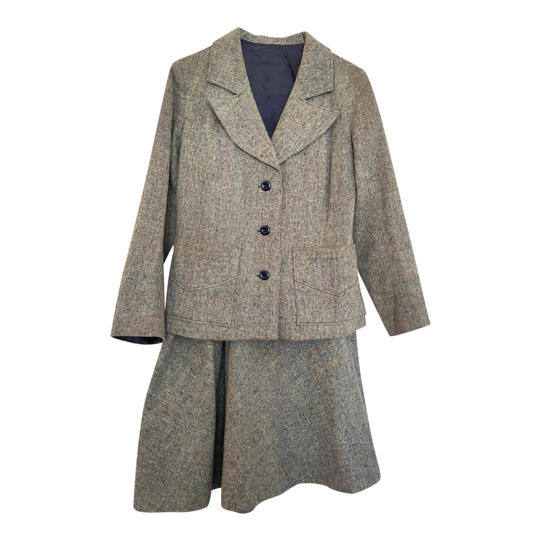 Tailleur jupe en laine