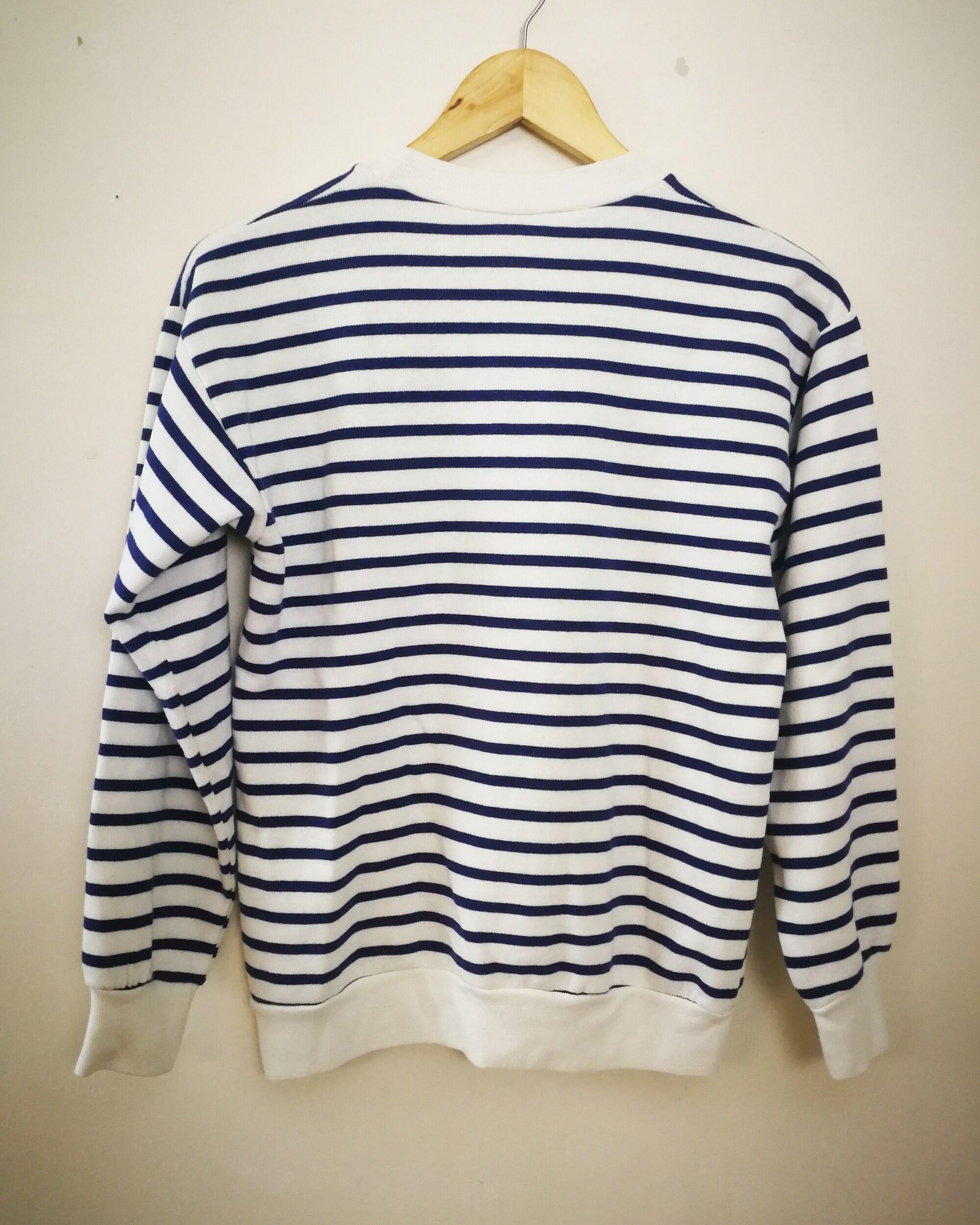 Sweat-shirt marinière
