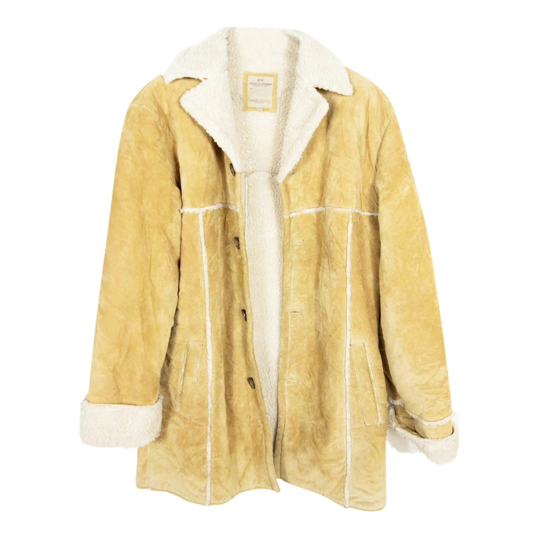 Manteau lainé