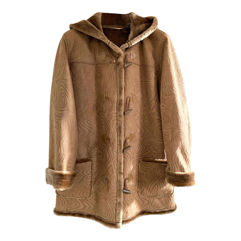 Duffle coat en fausse fourrure