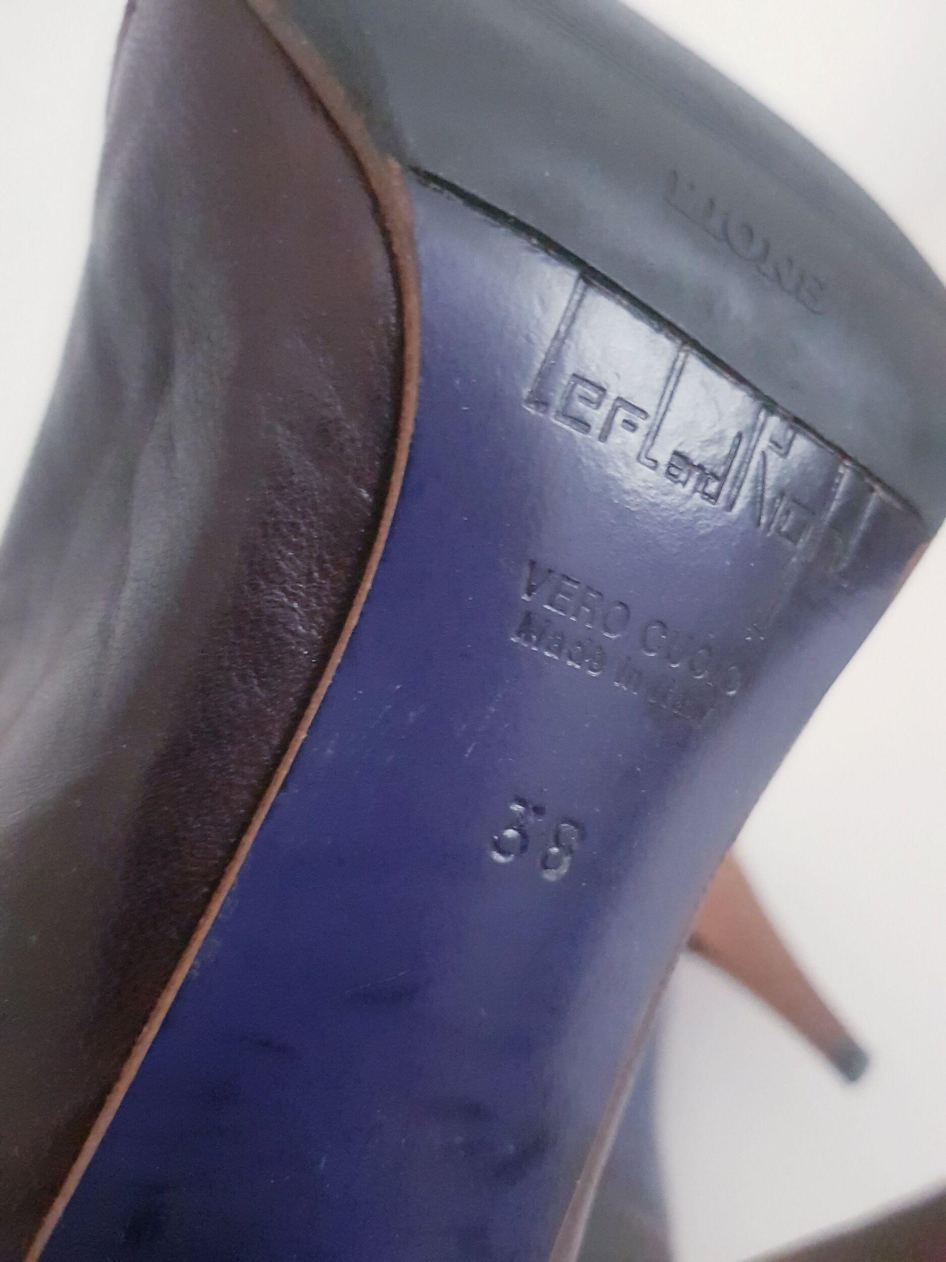 Bottes en cuir