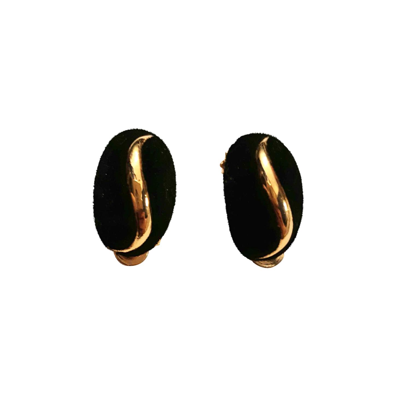 Boucles d'oreilles en velours