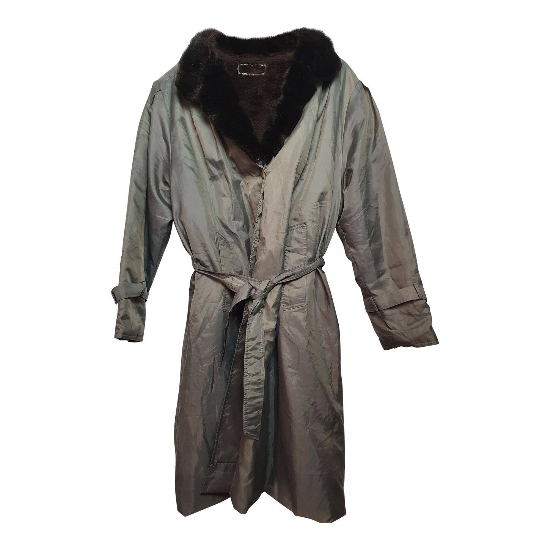 Manteau imperméable fourré