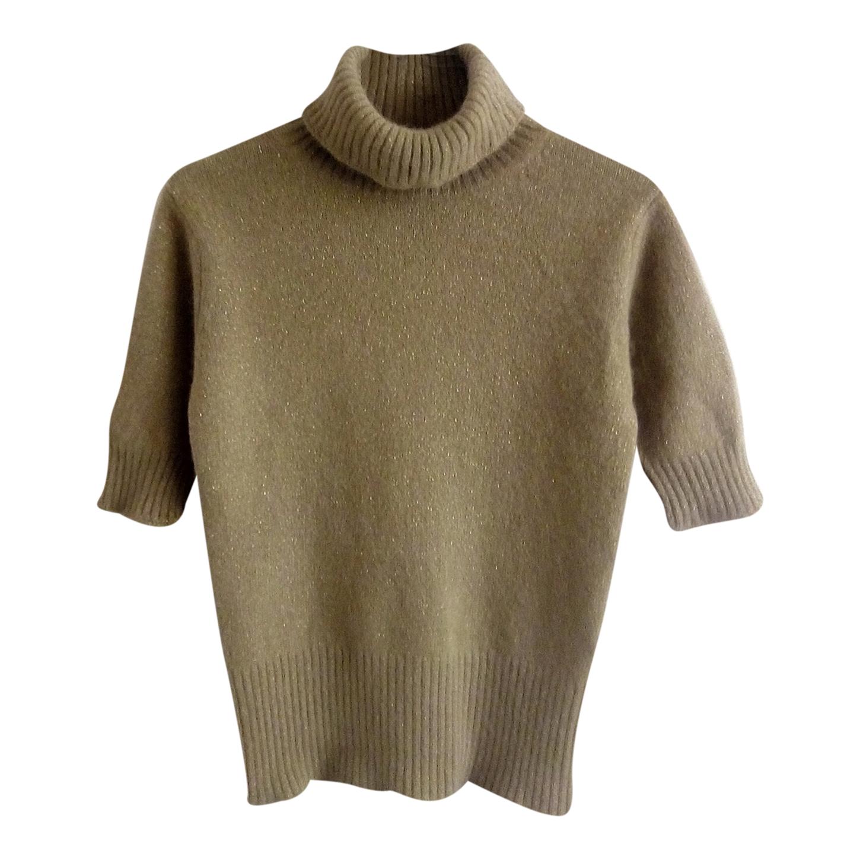 Top en laine et angora