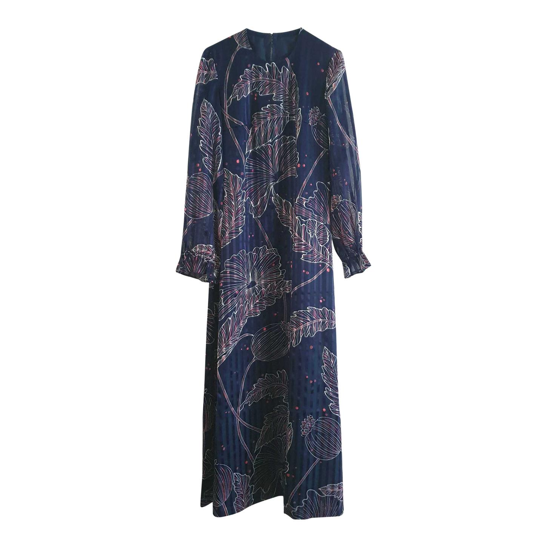 Longue robe en voile
