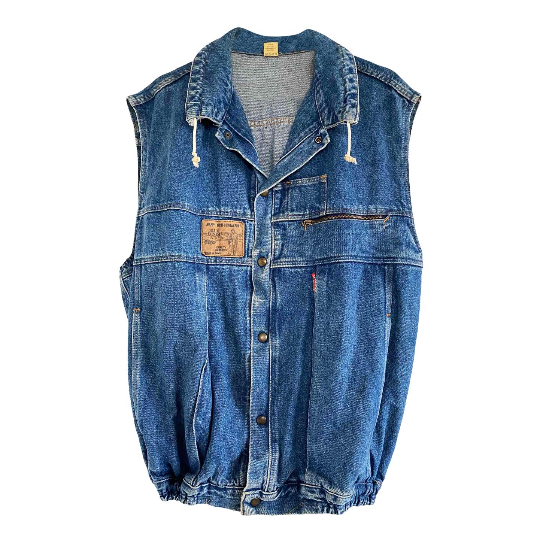 Veste en jean sans manches