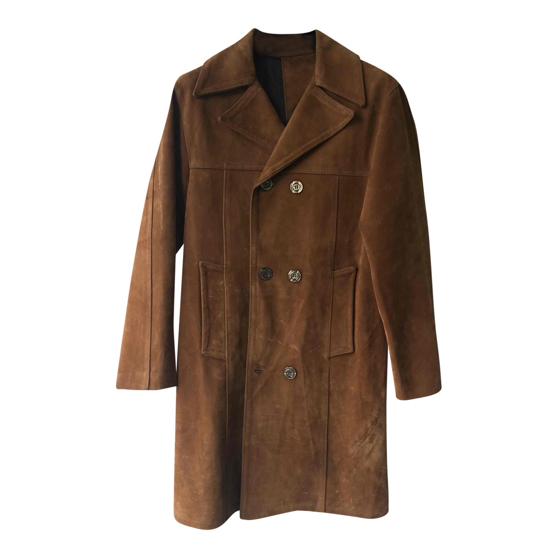 Manteau en suédine