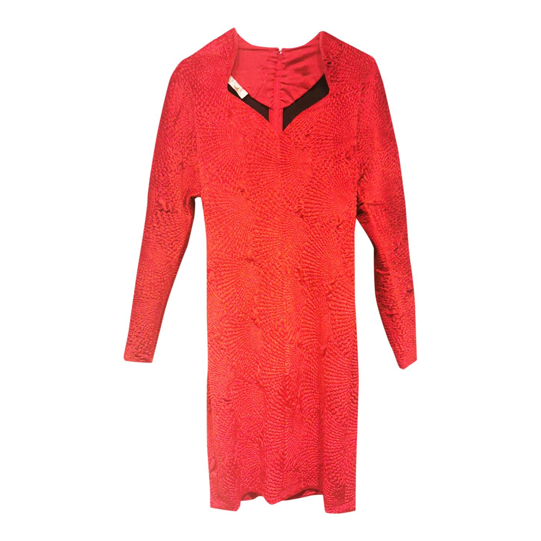 Robe en velours de soie