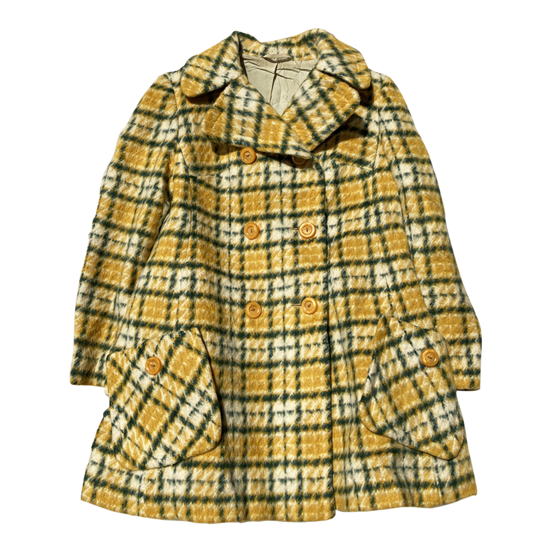 Manteau 60s à carreaux