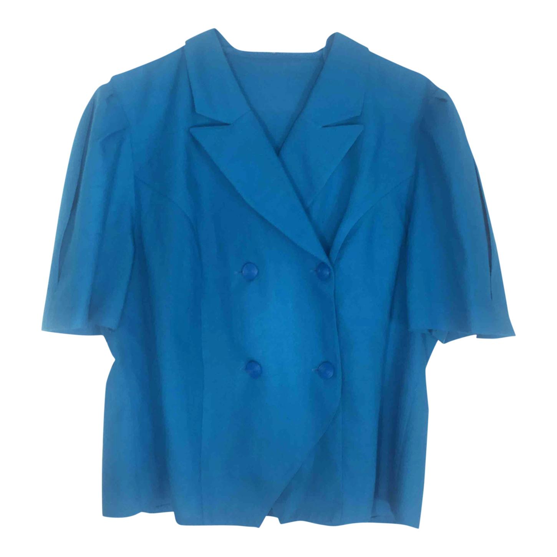 Blouse bleue
